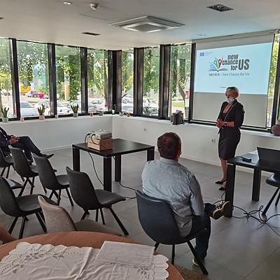 NEC4US - projektno srečanje