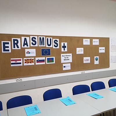 NEC4US, Erasmus+