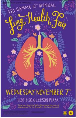 Tri Gamma Lung Health Fair