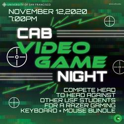 CAB Video Game Night