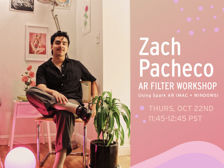 AI Filter Workshop with Zach Pacheco!