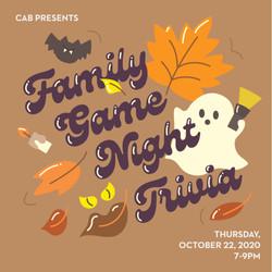 CAB Family Game Night