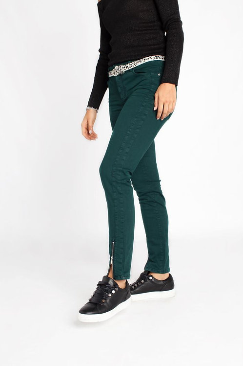 Jeans femme Antonia 463 vert bouteille