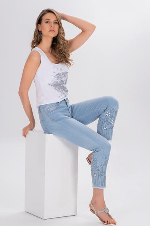 DOLCEZZA - JEANS BRODE