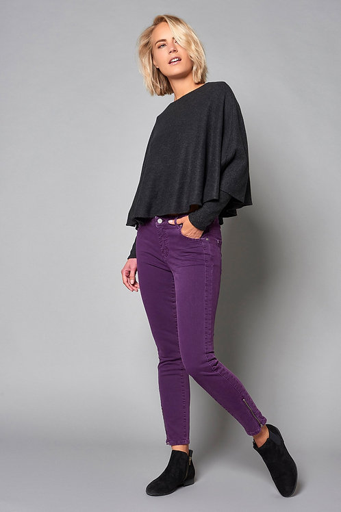 Jeans femme Antonia 207 violet