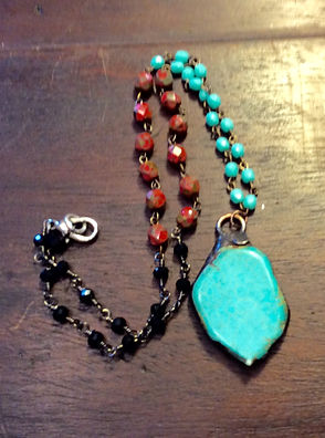 Healing Turquoise Necklace