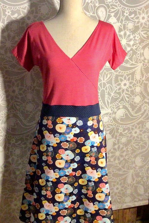 robe cache-coeur taille M