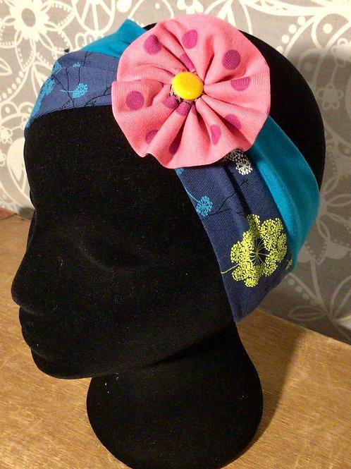 bandeau fleur imprimé