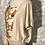 Thumbnail: lin naturel plastron coton taille S