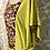 Thumbnail: blouse lin naturel plastron coton Taille S/M