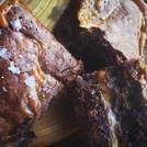 Salted caramel brownies - our best seller!