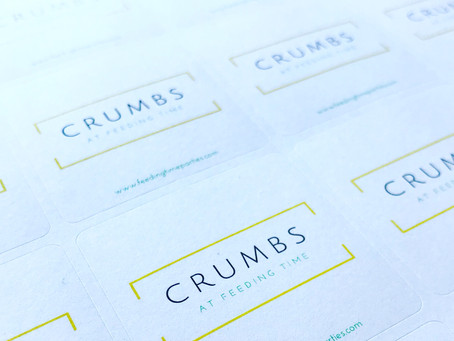 Introducing:  Crumbs at Feeding Time
