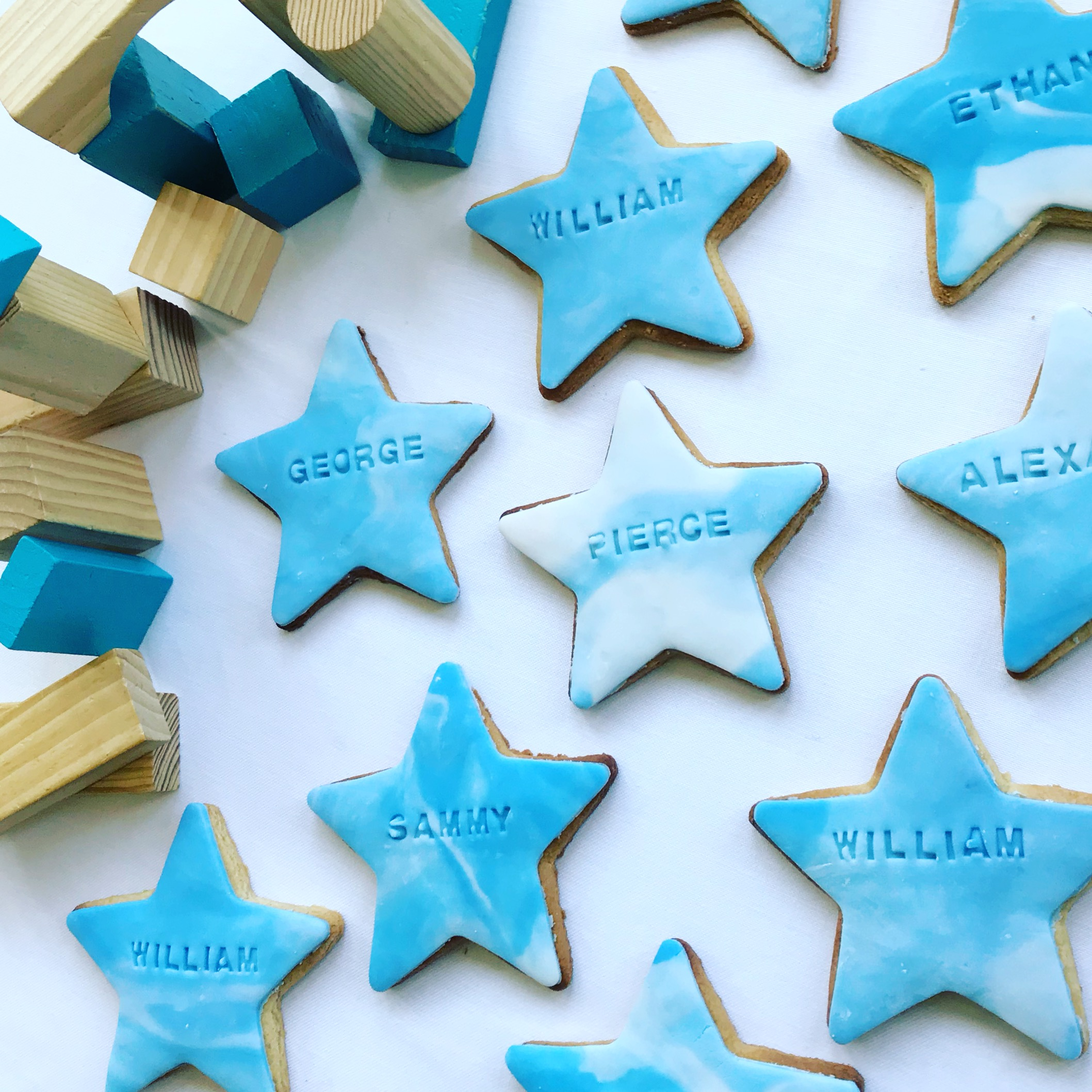 Personalised party favours