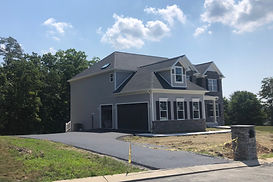 Paving job completed July 2019