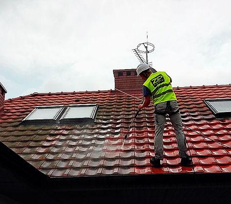 czyszczenie dachu