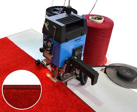 Obszywanie dywanów