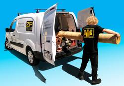 Transport dywanów do Klienta
