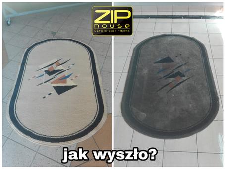 Różnica po praniu.