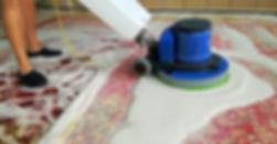 szorowanie dywanu