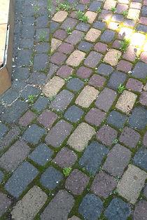 czyszczenie kostki brukowej, mycie kostki brukowej, Bydgoszcz