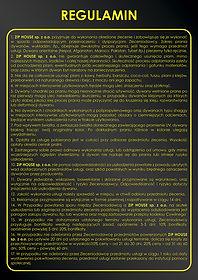 regulamin pralni dywanów