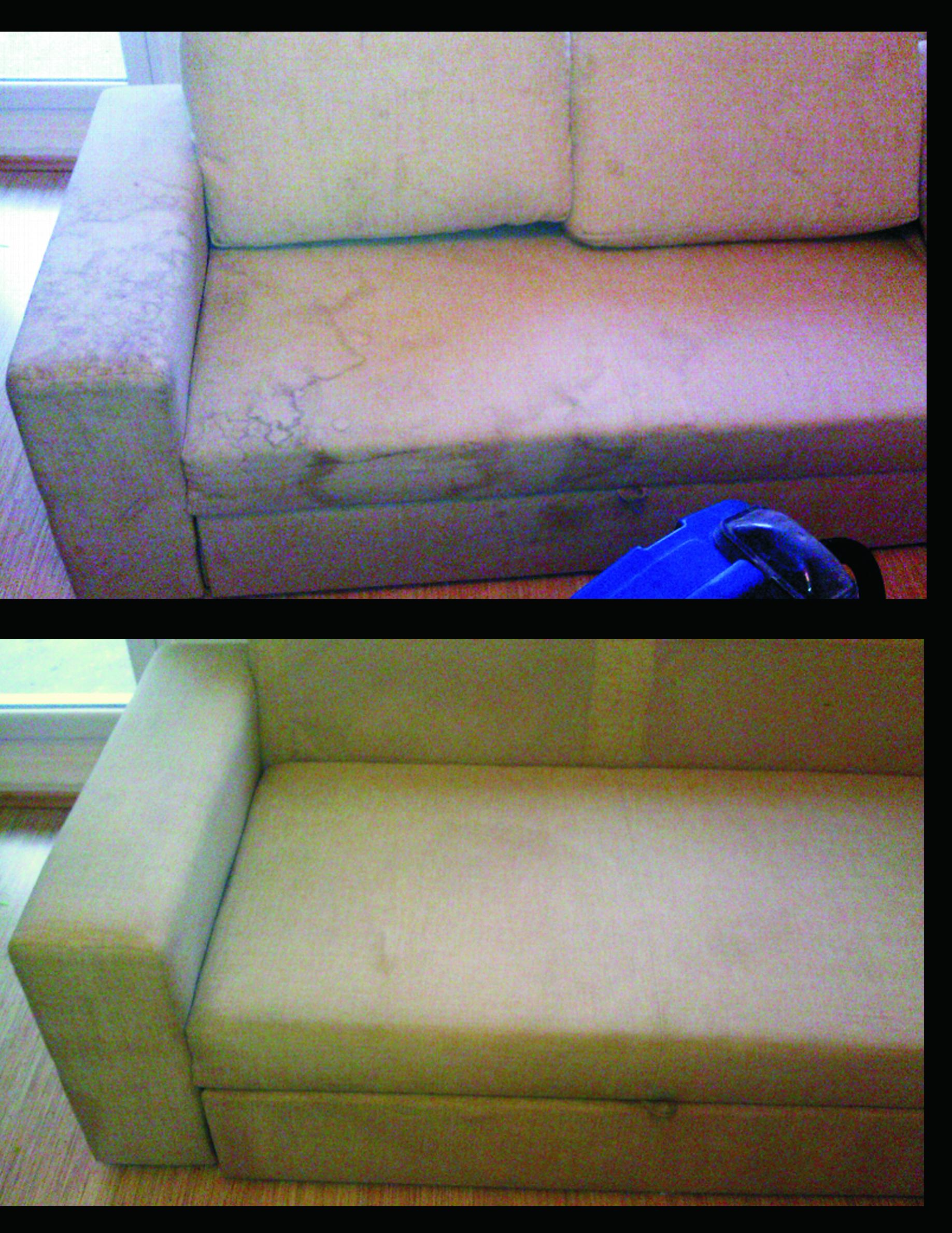 Czyszczenie tapicerki, pranie