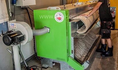Trzepanie dywanu, automat trzepiącym