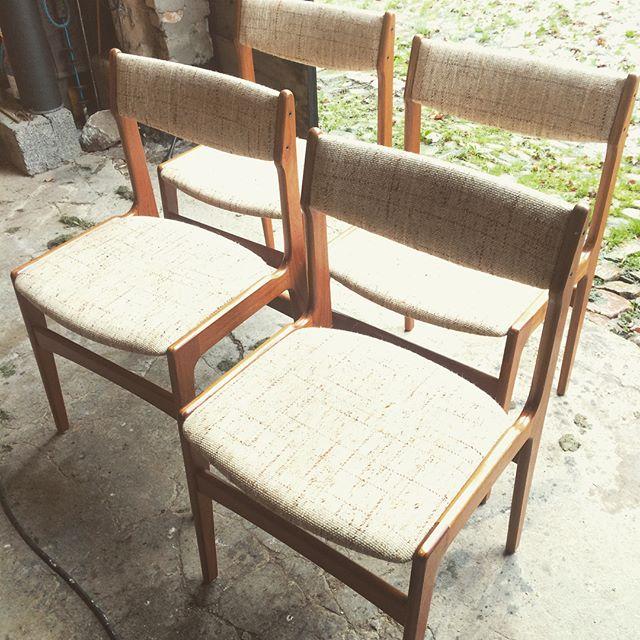 Erik Buch teaktræsstole