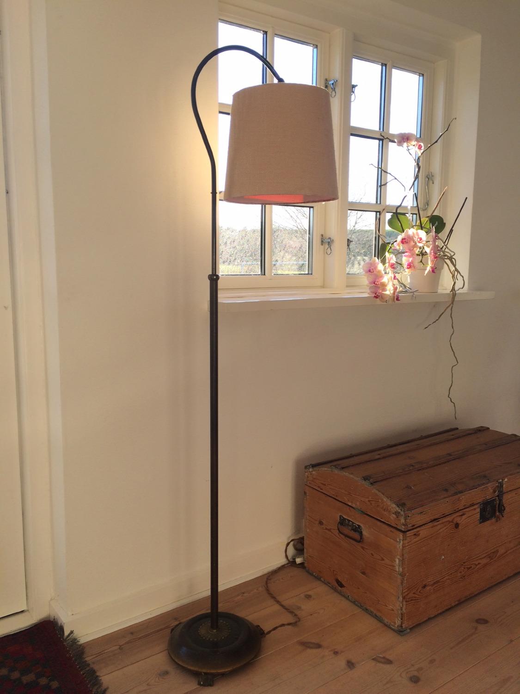 Vintage standerlampe