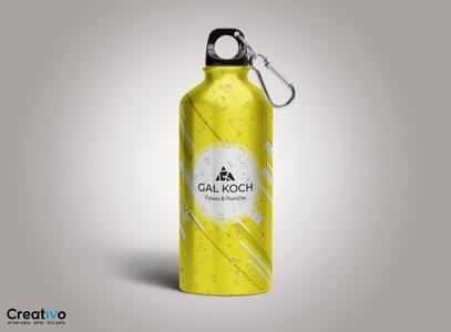 בקבוק מים ספורטיבי