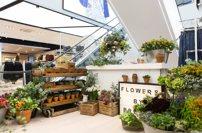 Topshop Pop Up Florist