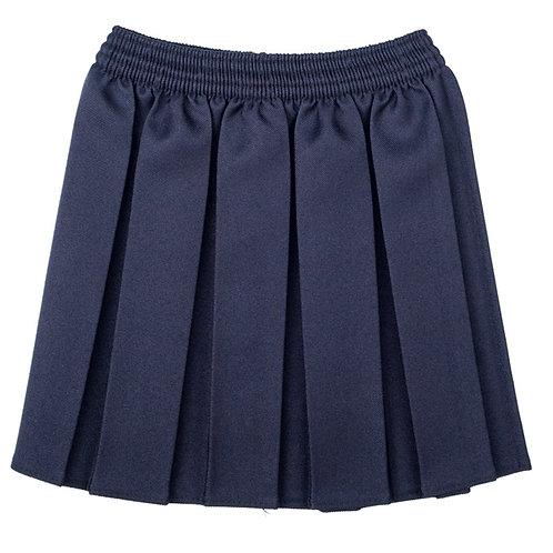Navy All Elastic Skirt