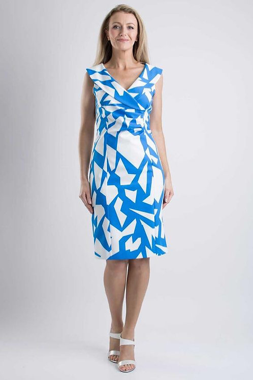 Kate Coope Blue & White Printed Dress
