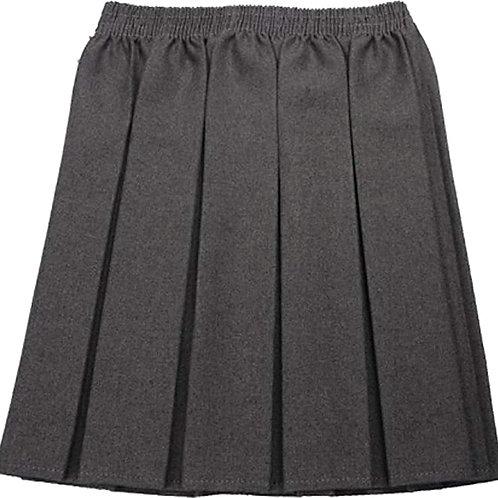Grey All Elastic Skirt