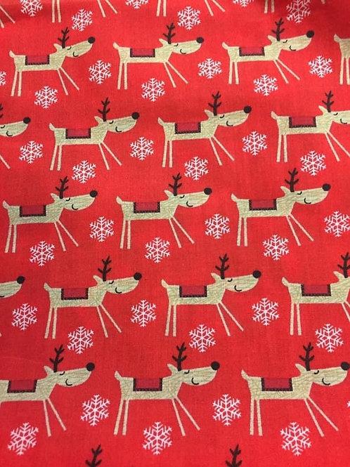 Reindeer Fabric