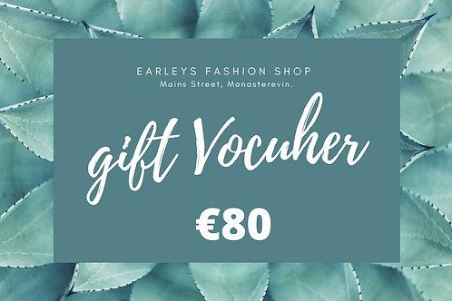 Gift Voucher €80