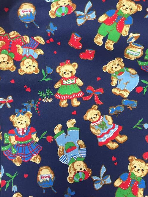 Teddy bears Fabric