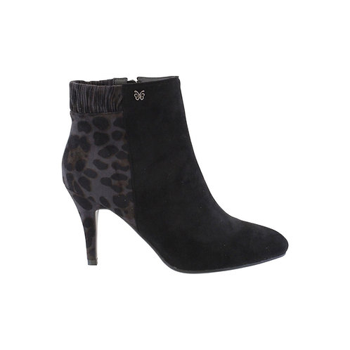 Hannah B - Black/Grey Leopard