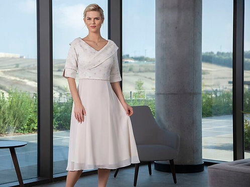 Lizabella Cream Dress