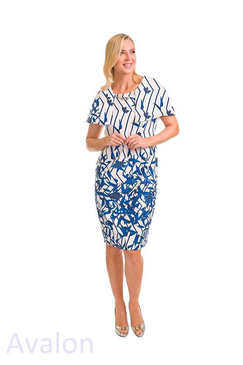 Avalon Blue Zebra Dress