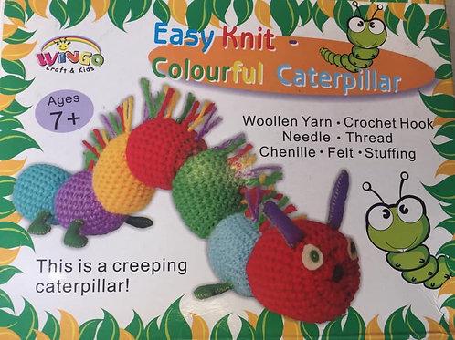 Caterpillar Knitting Set