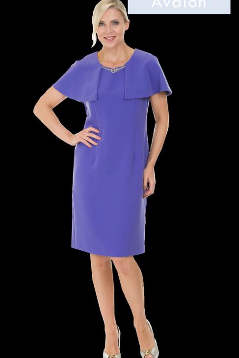 Avalon Purple Dress
