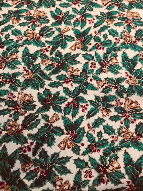 White Holly Fabric