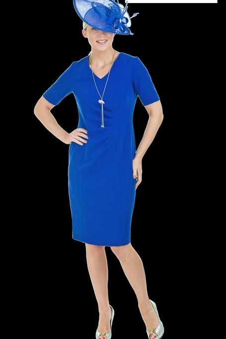 Via Veneto Royal Blue Dress