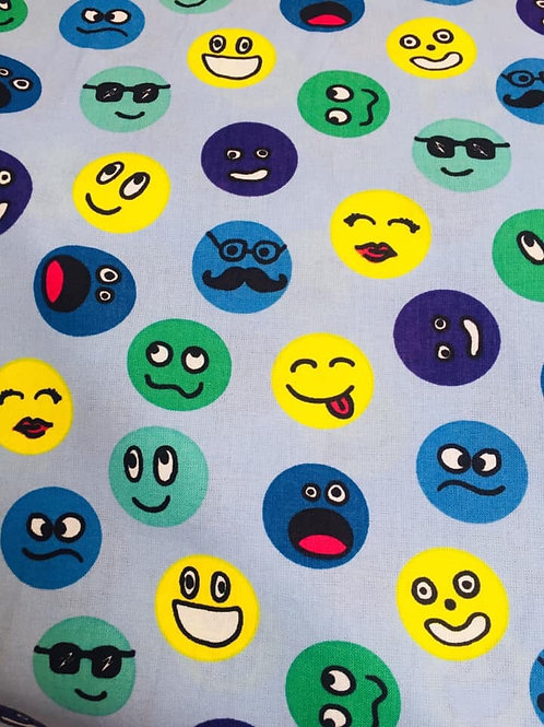 Smily Faces Fabric