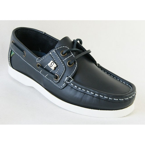 Susst Deck Shoes -Navy/White