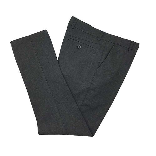 Boys Grey Slim Fit Trousers