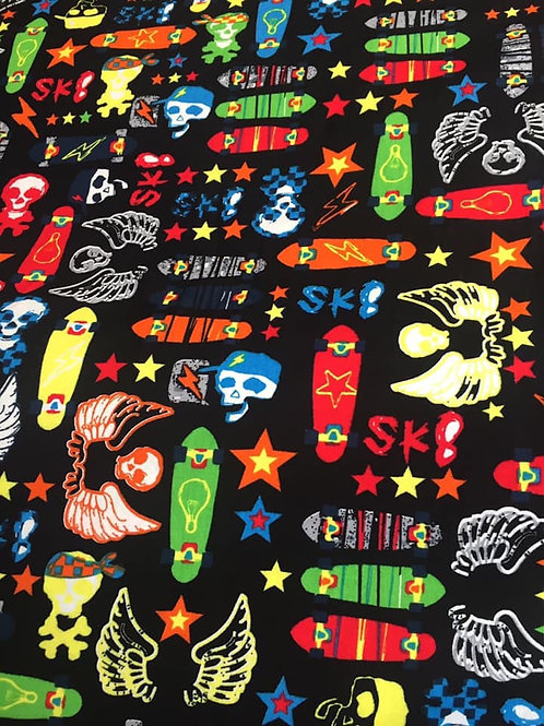 Skate Board Fabric