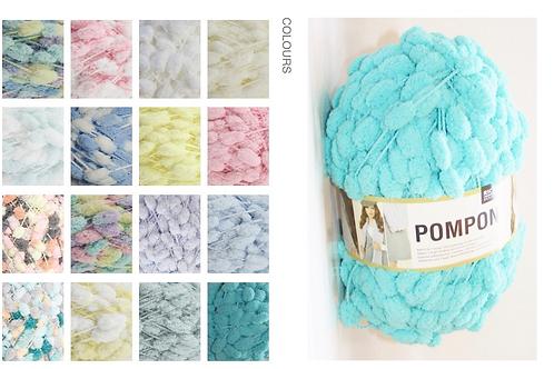 Pompom wool