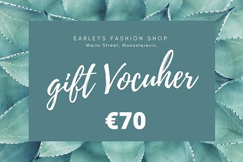 Gift Voucher €70